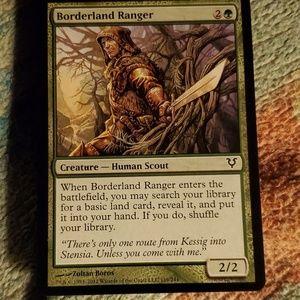 Borderland ranger magic card